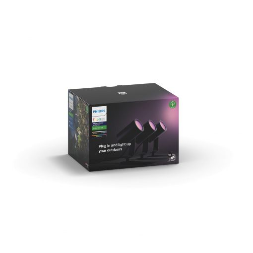 Philips Hue Lily Spike 3X8W Base Kit - Antracit Grå