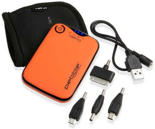 Veho Pebble Verto Power Bank - Orange