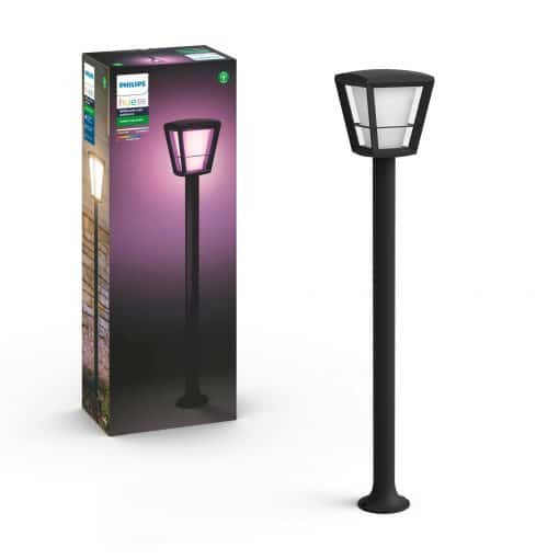 Philips Hue Econic White- &Amp; Color Piedestal Tall – Sort