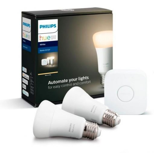 Philips Hue White Bt 9W E27 Starter Kit
