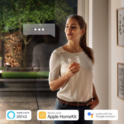 Philips Hue Attract Hue Waca Eu Wall Lantern Black 1