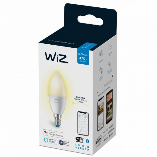 Wiz Led Pære 4,9W E14 Dim
