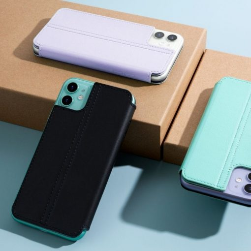 Twelve South Cover Til Iphone 11 - Tyndt Nappa Læder - Tidsel Grå