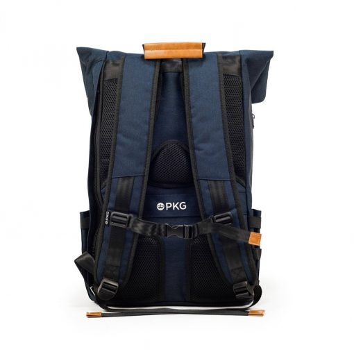 Pkg Brighton Ii Foldtop Backpack For Up To 16&Quot; Laptops - Navy/Tan