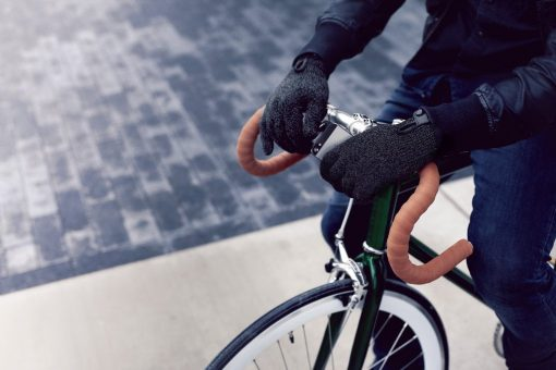 Mujjo Double-Layered Touchscreen Gloves - Extra Warm Touch Gloves! Small