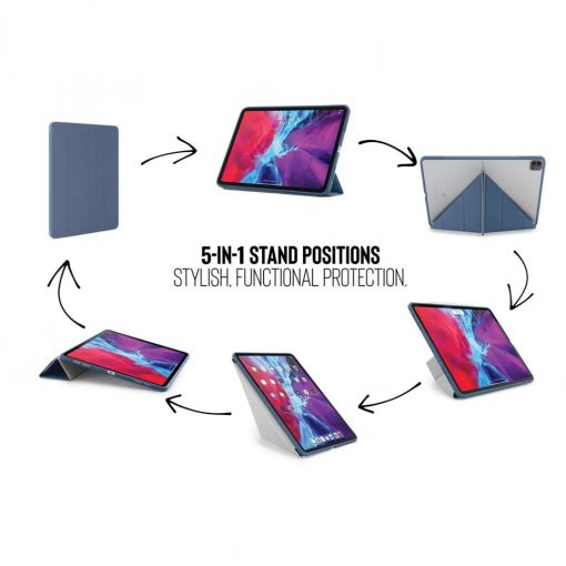Pipetto Tpu Origami Cover Ipad Pro 12.9&Quot; (2020) - Navy Blå