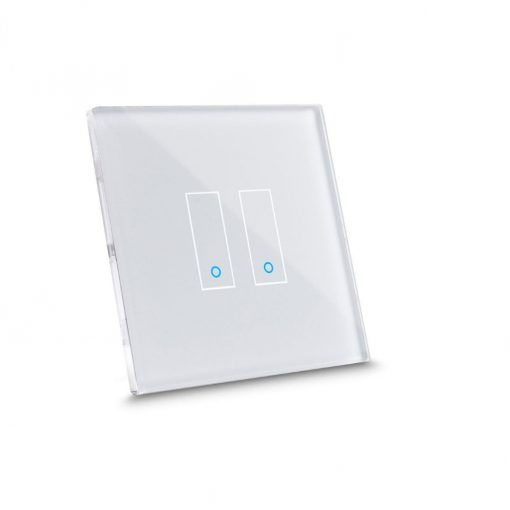 Iotty Smart Switch Base (Double-Gang) - Design You Own Smart Switch