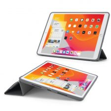 Pipetto Ipad 10.2&Quot; 2019 Origami Case With Tpu Back Grey