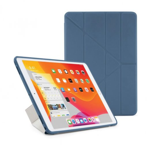 Pipetto Ipad 10.2&Quot; 2019 Origami Cover Med Tpu Bagside - Navy