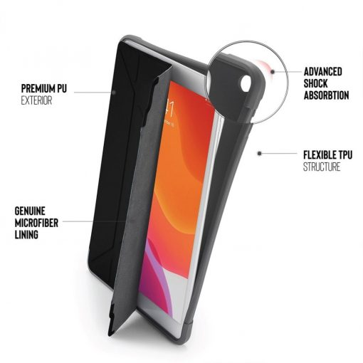 Pipetto Ipad 10.2&Quot; 2019 Origami Shield - Bulk Packed Grey