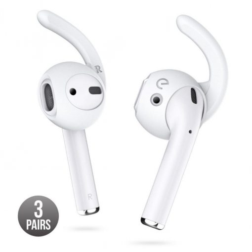 Earbuddyz - Ear Hooks For Airpods And Earpods White