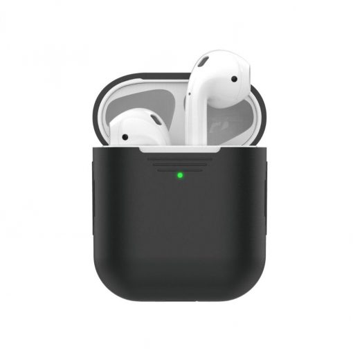 Podskinz - Protective Silicon Cover For Your Airpods White