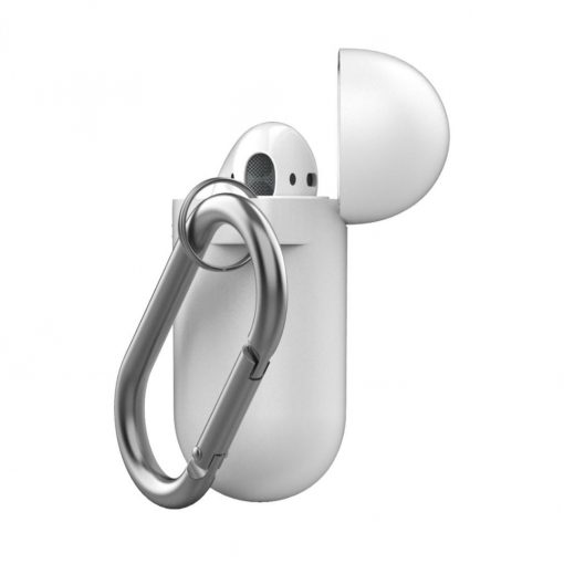 Podskinz Keychain Series - Beskyttende Silikone Cover Til Din Airpods - Pastel Gul