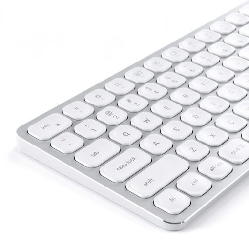 Satechi Wireless Keyboard For Up To 3 Devices - Us English Layout Silver