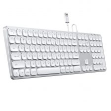 Satechi Keyboard With Wired Usb Connection - Us English Layout Space Gray