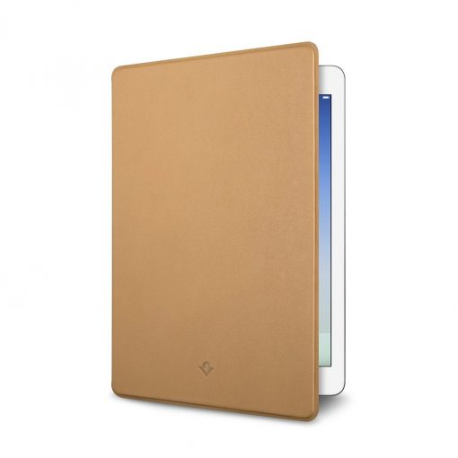 """Twelve South Surfacepad For Ipad Air Pro 9.7 """"- Luxury Leather Case Camel"""
