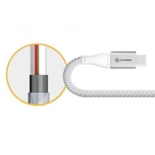 Alogic Ultra Usb-C To Usb-A Adapter 15 Cm Space Grey