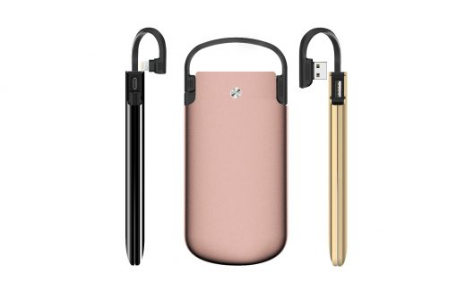 Zikko Powerbag, 6000 Mah Iphone &Amp; Ipad Powerbank, Mfi Lightning Kabel - Guld