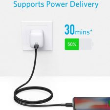 Anker Powerline Select Usb-C To Lightning Cable, 0,9M, Black
