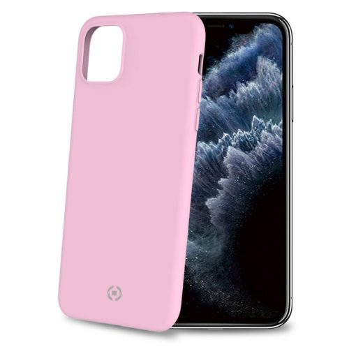 Celly Feeling Iphone 11 Pro Silikone Cover, Lyserød