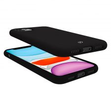 Celly Feeling Iphone 11 Silikone Cover, Sort