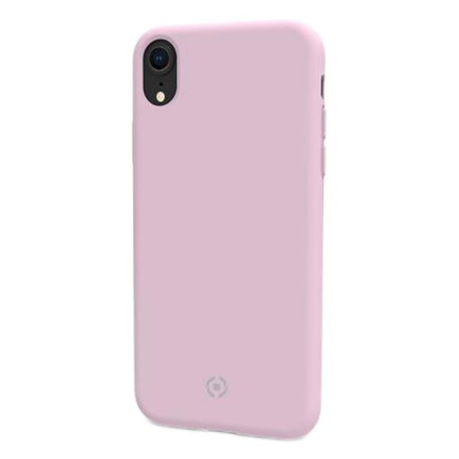 Celly Feeling Iphone Xr Silikone Cover, Lyserød