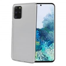 Celly Gelskin Samsung Galaxy S20+ Soft Tpu Cover, Transparent