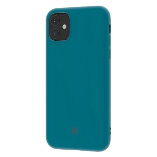Celly Leaf Iphone 11 Tpu Cover, Blå