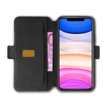 Celly Prestigem Iphone 11 Cover Med Magnetluk, Sort